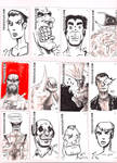 Business Card Drawings no.3 by FWACATA