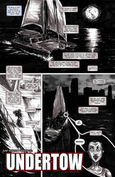 UNDERTOW page 1 - ZOMBIE YEARS no.6