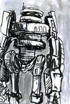 LUG X-1, the robot boyfriend by FWACATA