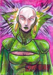 Avengers Sketch Card 2014  80 by FWACATA