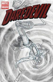 DAREDEVIL sketch cover pencils 2