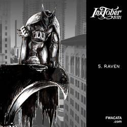 INKTOBER 2021 Day 05 RAVEN