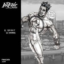 INKTOBER 2021 Day 06 SPIRIT or ANIMO