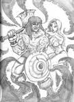 Sketches: Conan by FWACATA