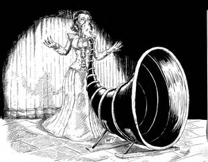 Steampunk Opera Singer
