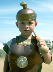 little roman soldier