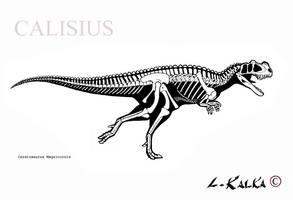 ceratosaurus magnicornis  rec. by Calisius