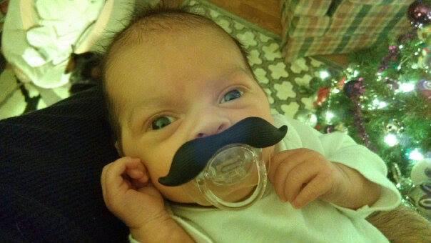 Quinn with a mustache?  O_0 by cewilson5
