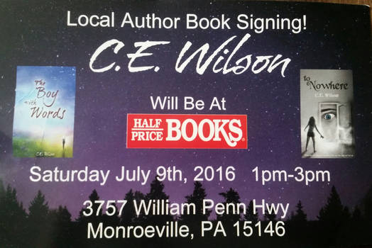 Book Signing! !