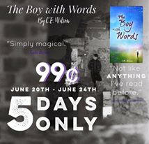 The Boy with Words is 99 cents for a Limited Time!