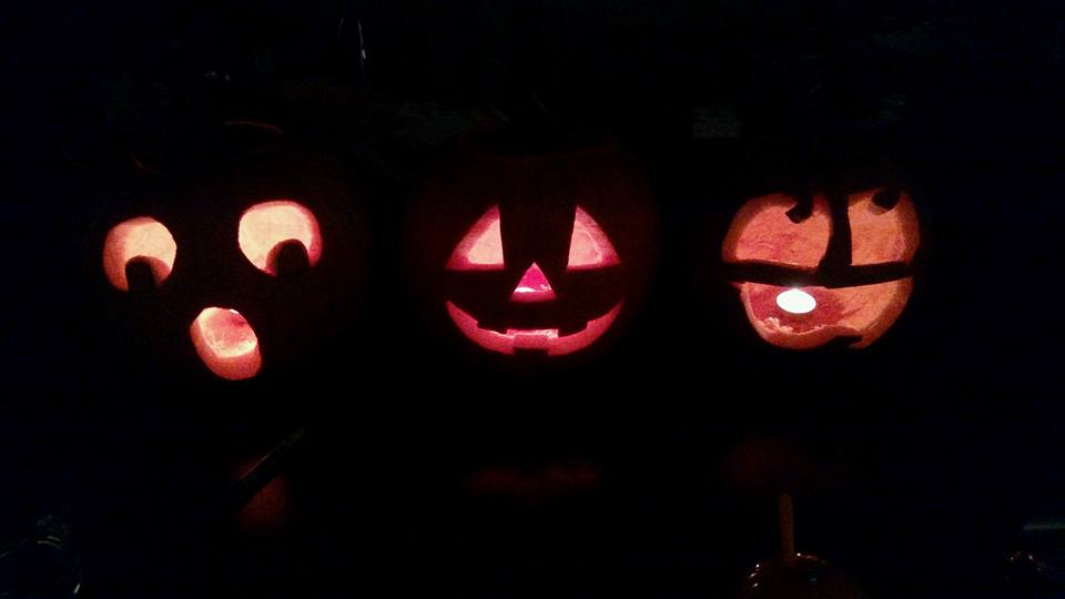 Carved pumpkins this year! by cewilson5