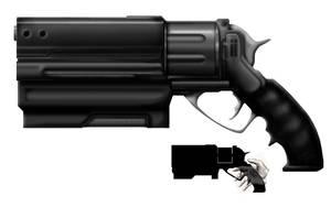 Revolver Concept by Cru-the-Dwarf