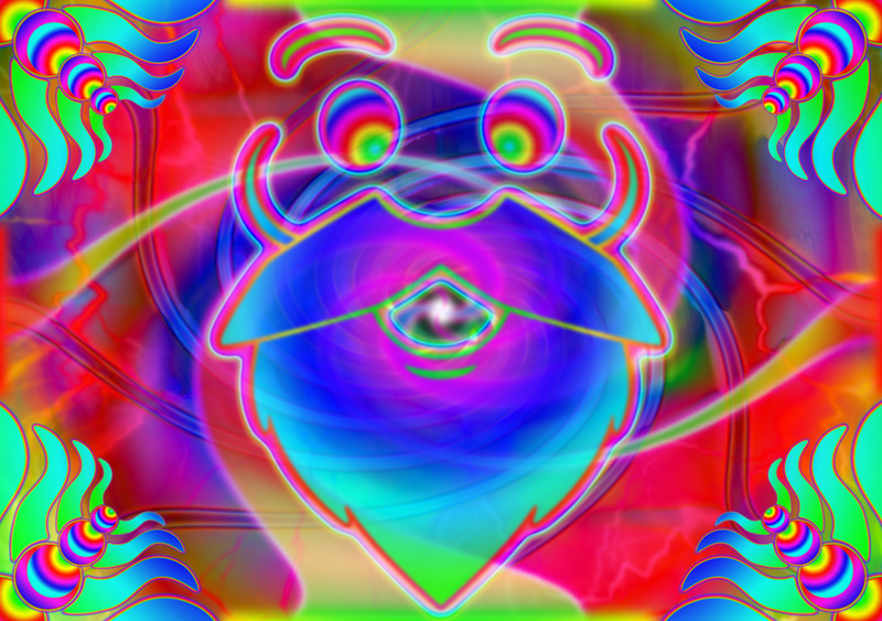 Psychedelic Chat Room