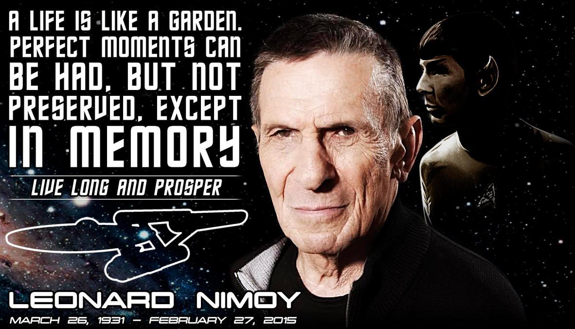Leonard Nimoy - R.I.P. by Cru-the-Dwarf