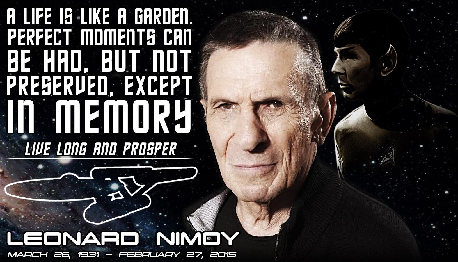 Leonard Nimoy Quotes Leonard Nimoy  R.i.p.cruthedwarf On Deviantart