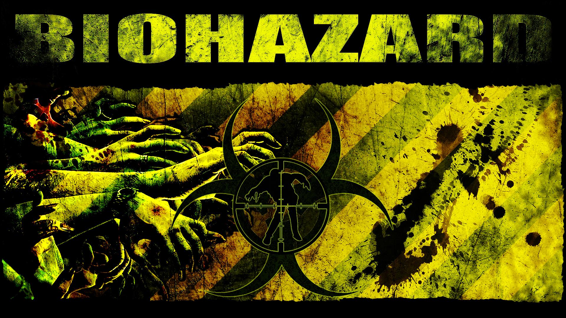 zombie hunter biohazard wallpaper by cru the dwarf on