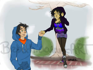 Art Request - Percy and Jenni