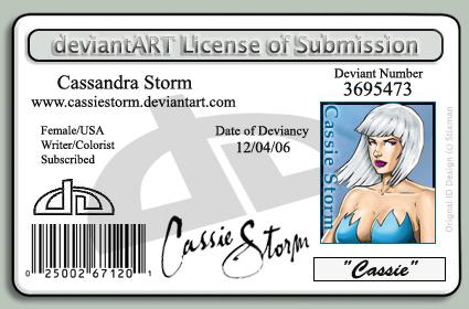 DA license by CassieStorm