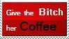 Coffee stamp by suzzannnn