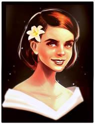 Emma Watson based portrait