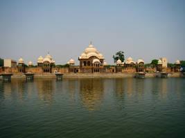Vrindavan - The temple of Krishna by Freephunkateer