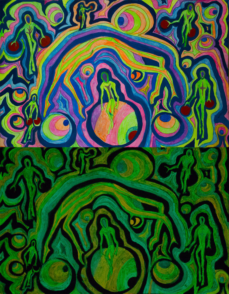art aliens psychedelic - photo #32
