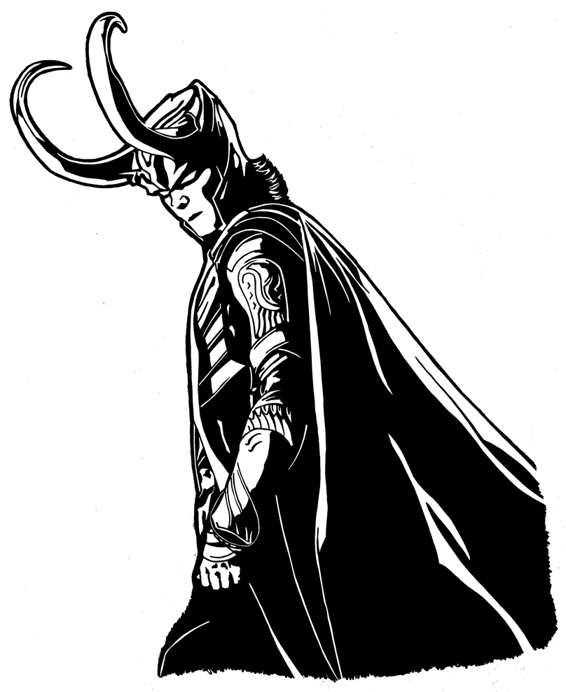Displaying 20> Images For - Loki Silhouette...