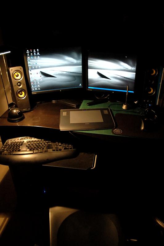My desktop by Delun