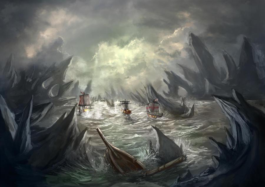 Shipwreck Cove by Delun