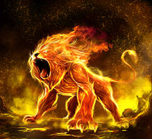 Panthera Leo by Delun