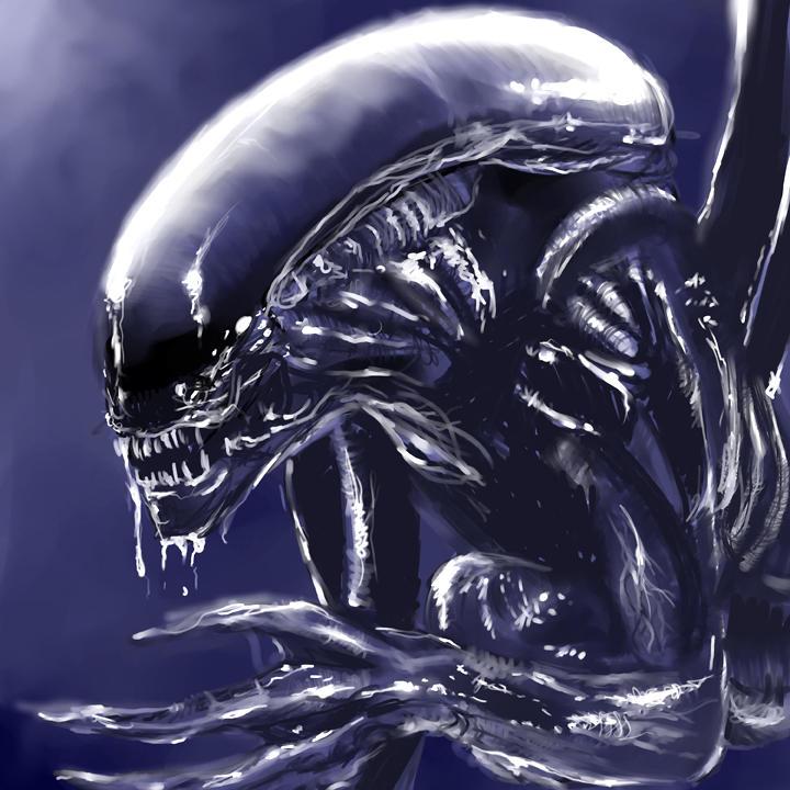 Alien by Delun