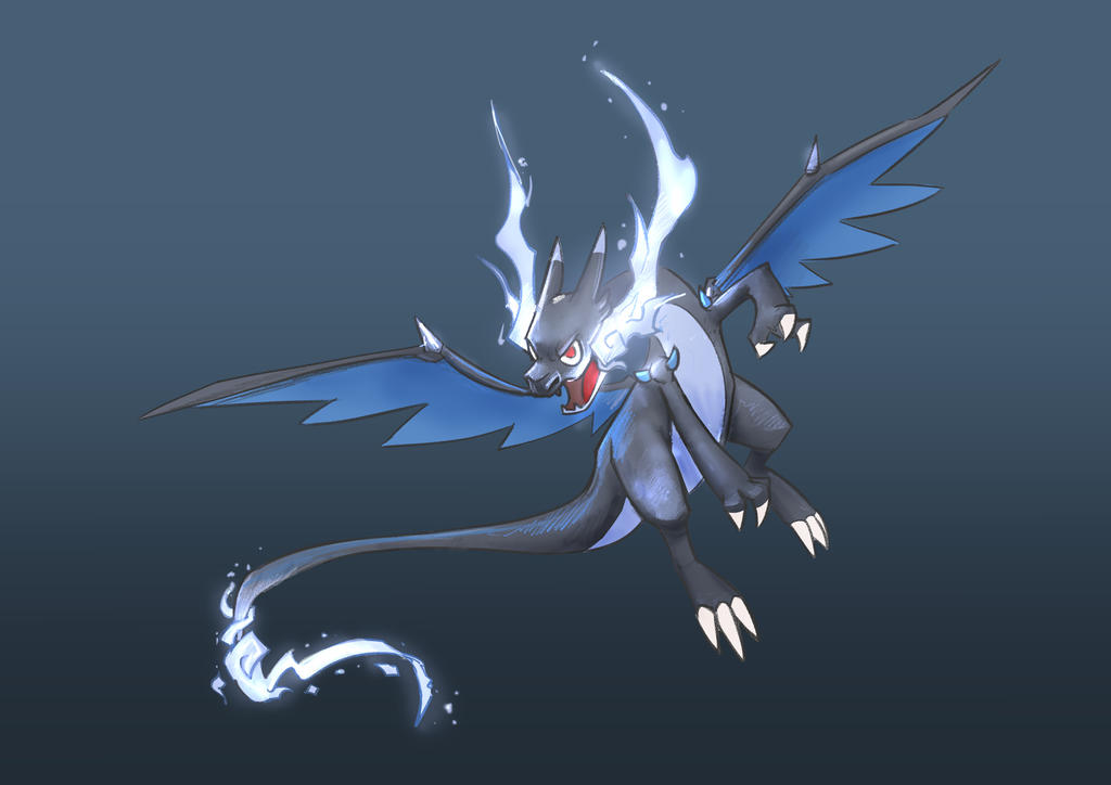 Day 867: Mega Charizard by Delun