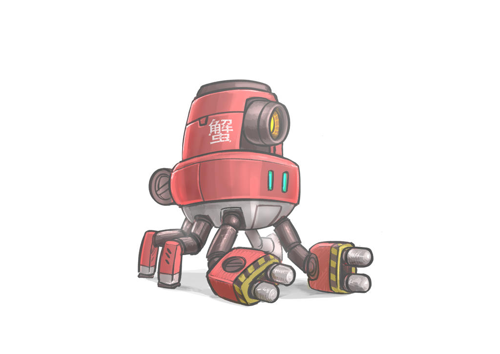 Day 868: Crab Mech by Delun