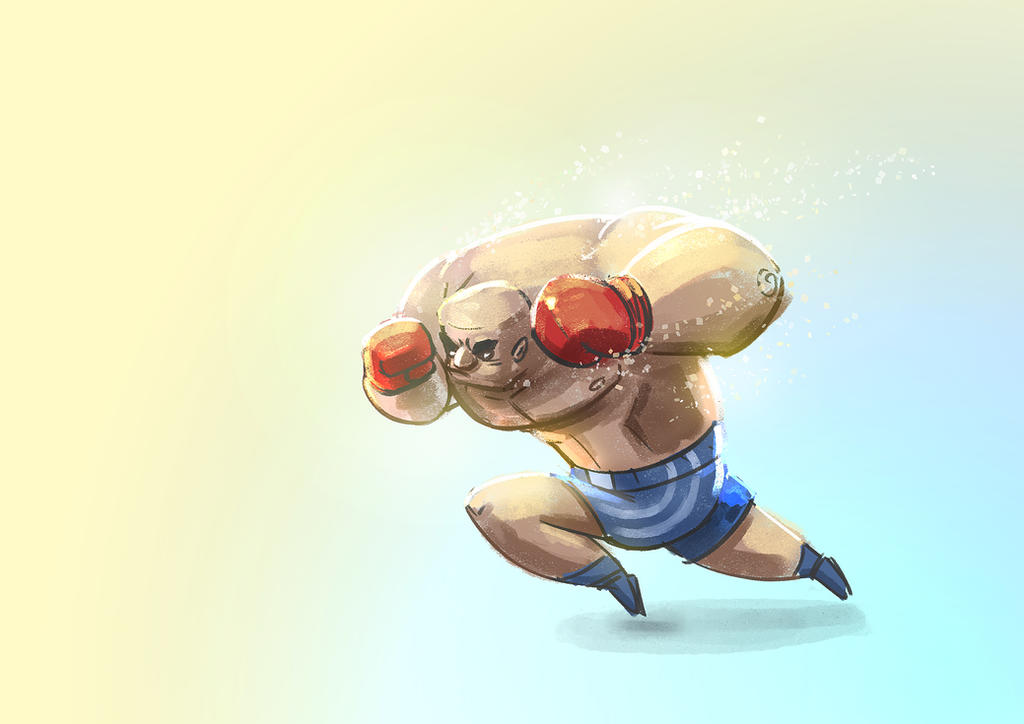 Day 876: Boxer by Delun