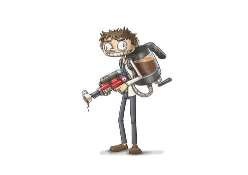 Caffeine man