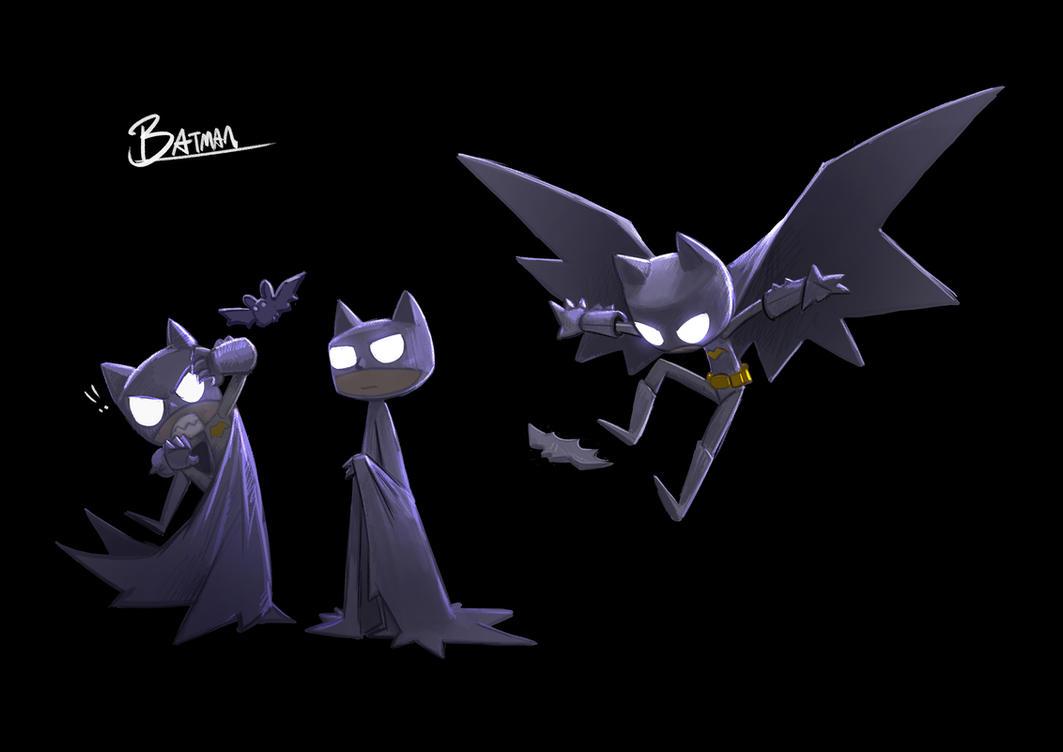 Mini Batman by Delun