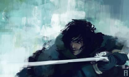 Lord Snow by merry-zazoue