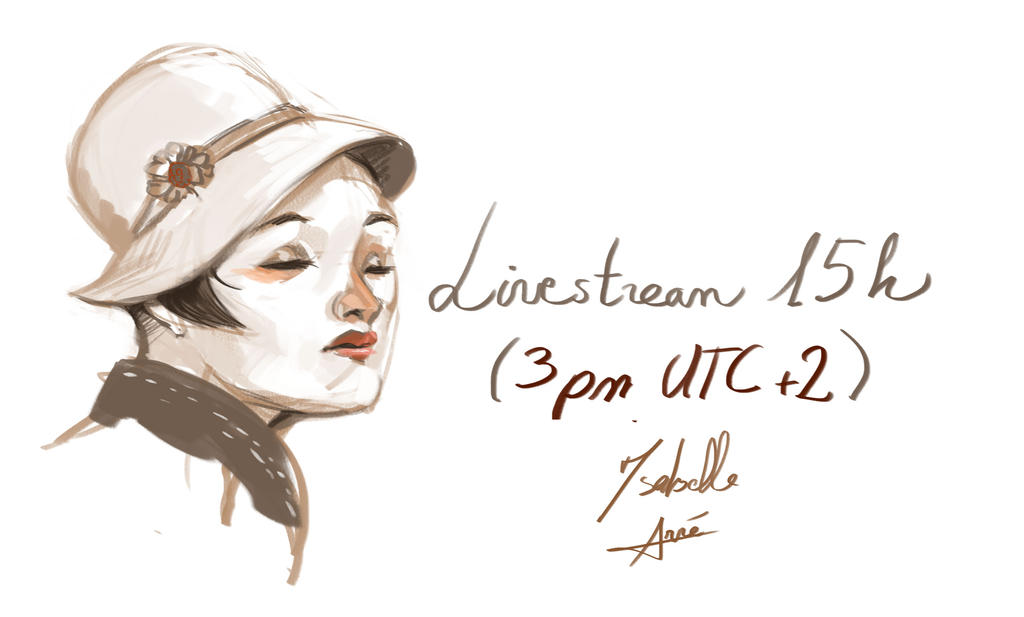 Livestream session today by merry-zazoue