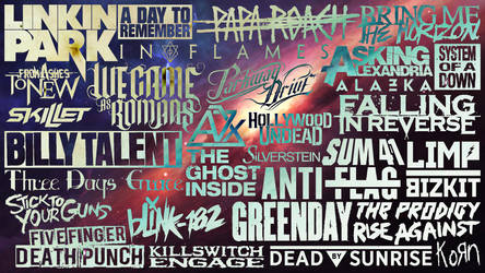 Favourite Bands Universe