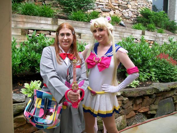 Animenext: Me with Sailor Moon by Hoshisama