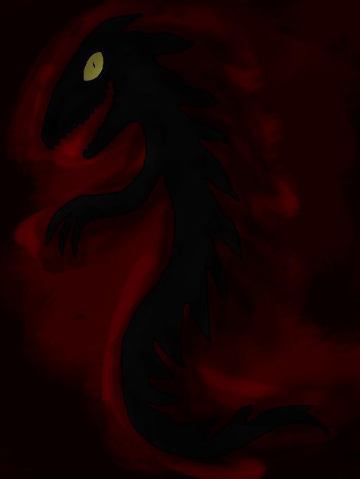Shadowtail - Nightmare Fuel by Rapono
