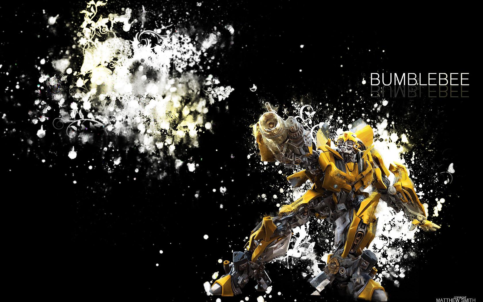 bumblebee wallpaper 1680x050 by unique2892 on deviantart