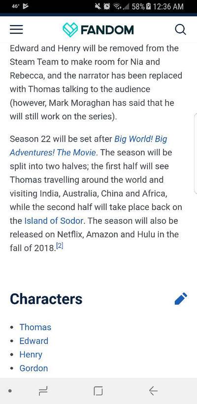update on season 22 by DJDrago9712