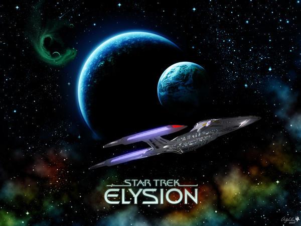 Star Trek Elysion Wallpaper 03 by diebutterfliege