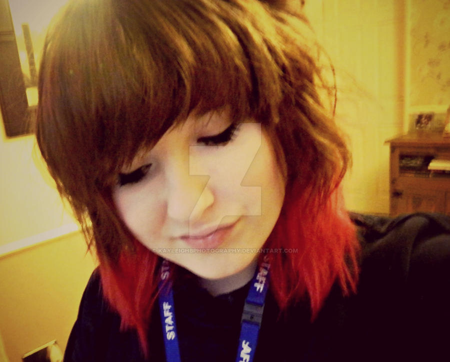Red Dip Dye By Kayleighbphotography On Deviantart