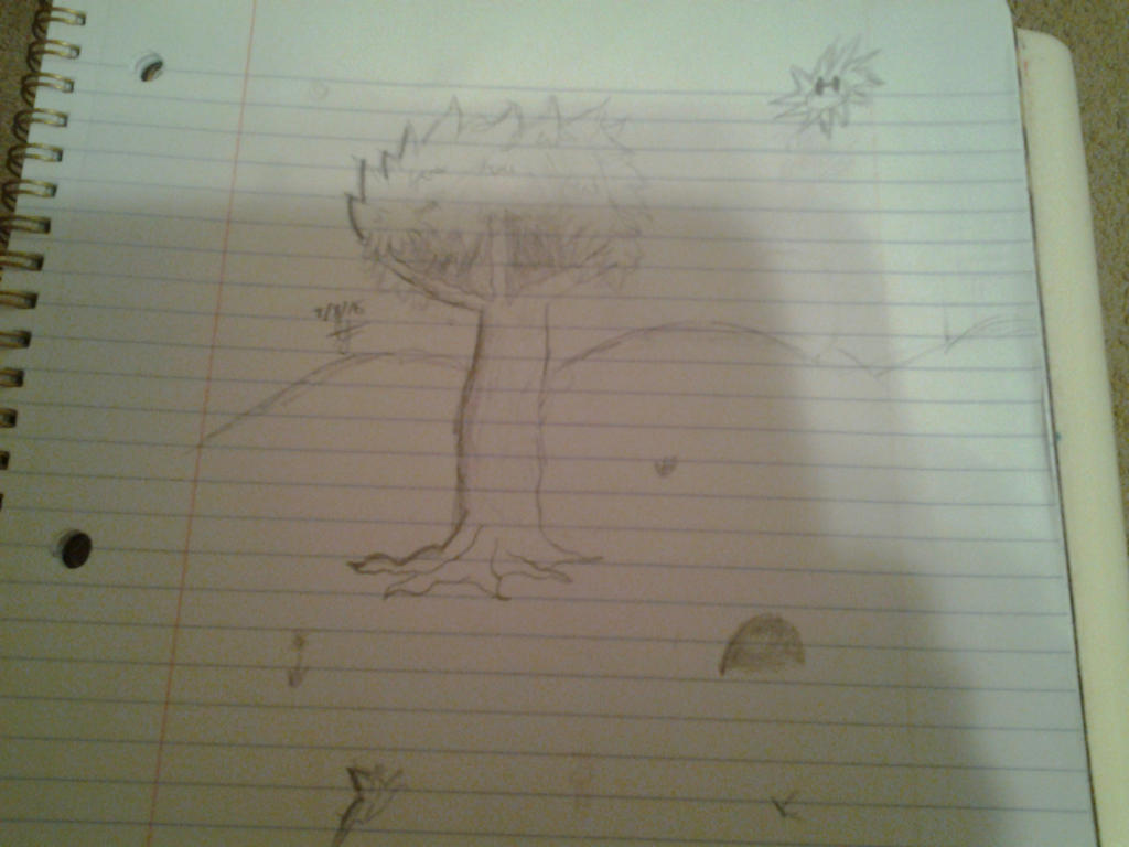 Terraria Sketch by gamzeh