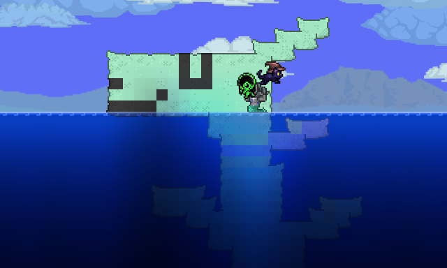 Zenno and Grergeon in Terraria! by gamzeh