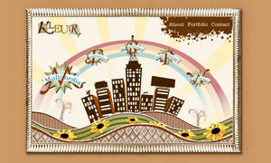 Kleur website portfolio by gmey