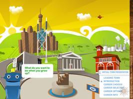 Scibono Virtual Town by gmey