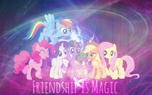 Friendship is Magic by patyv
